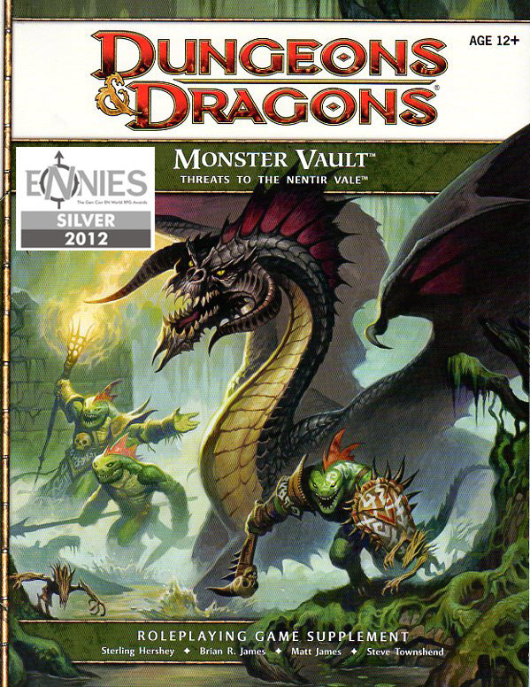 D&D Monster Vault: Threats to the Nentir Vale (4e)