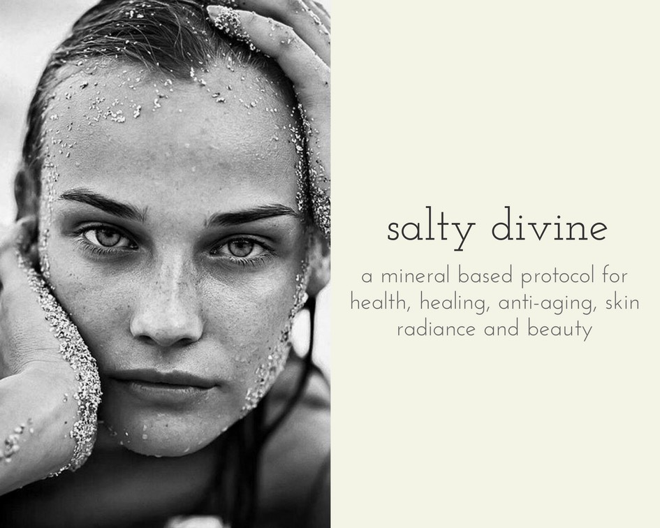 """photo: our beloved Diane Kruger  coming in 2019. salty divine. a sea culture inspired health and healing program. uniquely designed to invoke beauty, recovery, fountain of youth, skin health and that eternal vibe in us all waiting to be released. individually tailored with women in mind mineral based protocol because, """"the cure for anything is salt water - sweat, tears, or the sea."""" Isak Dinesen.  Send all inquiries to salt@mazeylotus.com  stay salty + divine~"""