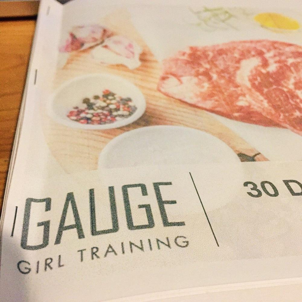 gauge girl training meal plan