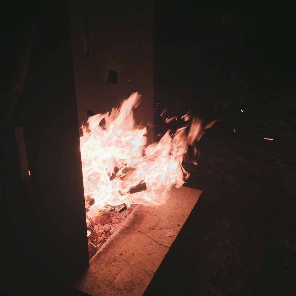 new years fire