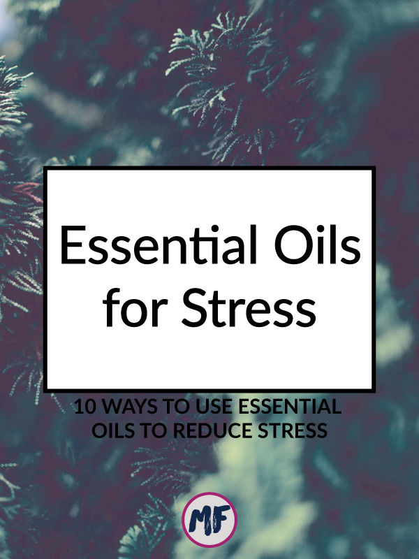 Essential oils for Stress Reduction - 10 ways you can use essential oils to calm down and reduce stress. If it works for the staff at the Vanderbilt Hospital ER, it will probably work for you too! Click to read more!