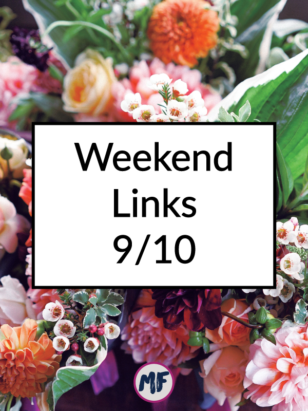 Weekend Links 9/10/16 - Click to read the most interesting things I found on the internt this week.