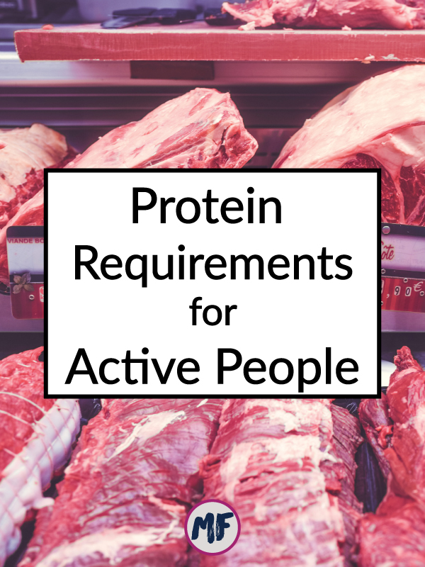 Protein Requirements for Active People - How much protein do you actually need in a day? And how can you be sure to get it?
