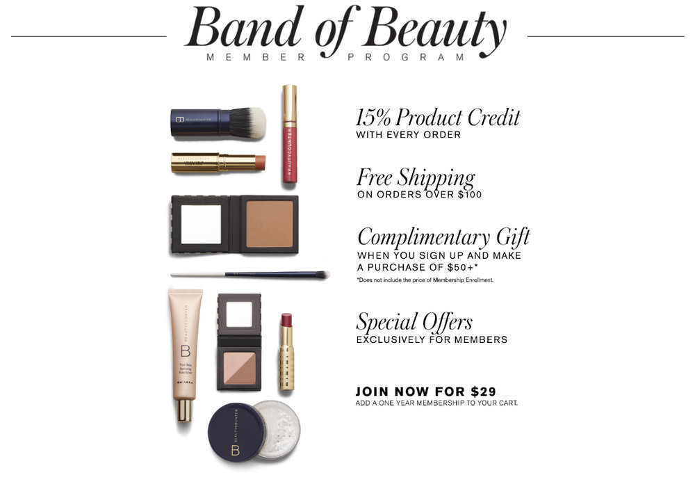 Band of Beauty Membership
