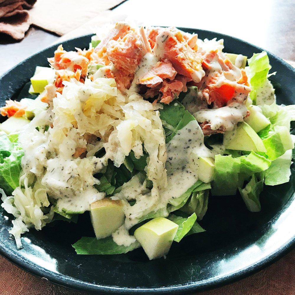 Salmon apple salad.JPG