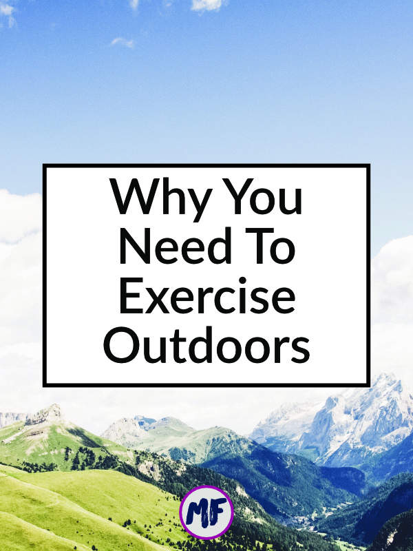 Believe it or not, the air quality in the gym can be terrible. Not only is it full of mold and other toxic compounds, but there is also a host of gross bacteria lurking on gym equipment. There are also some pretty great benefits to getting outside for your workout!