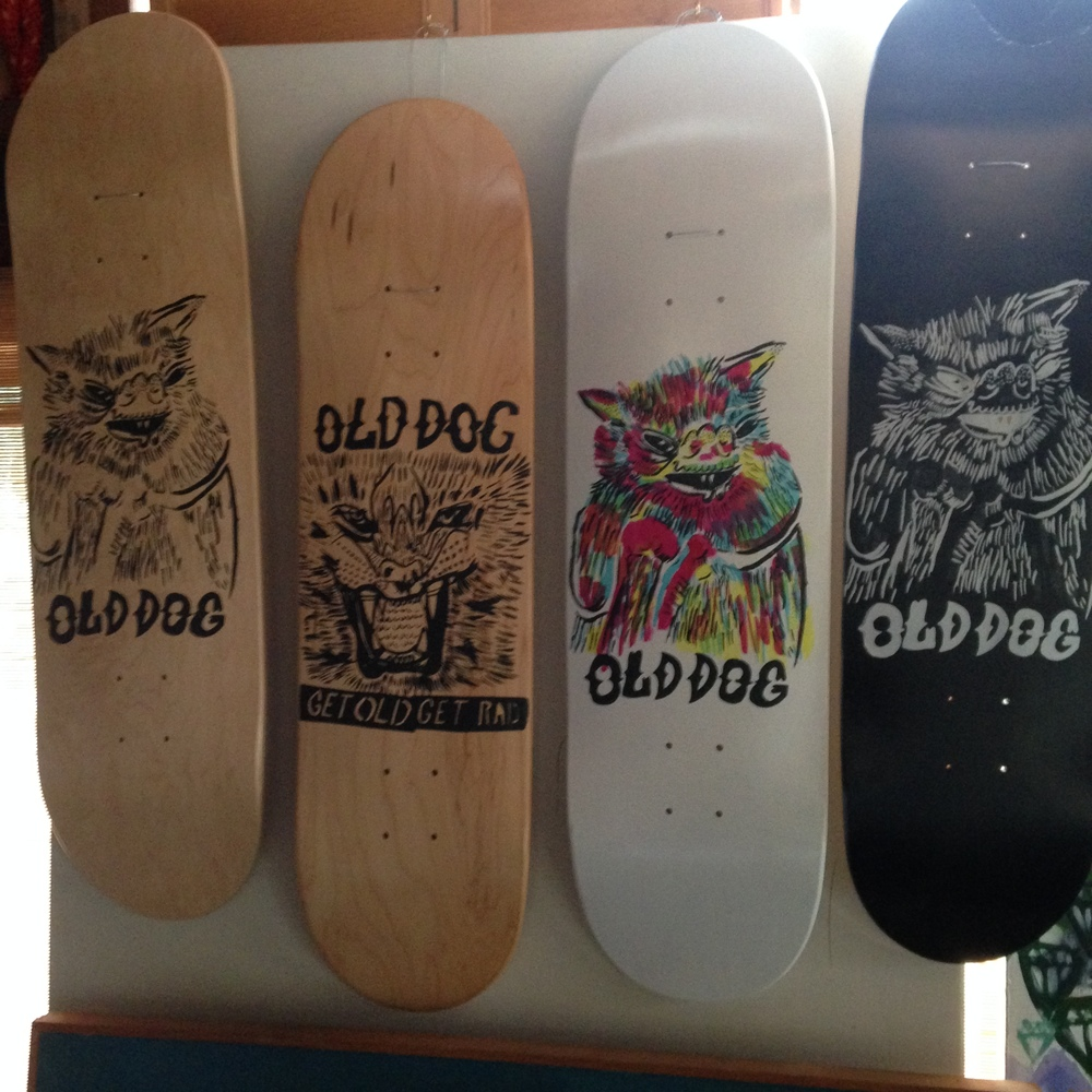 "Old Dog Skates: ""GET RAD.  GET OLD."""