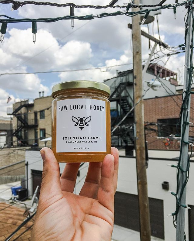 Excited to share that West Side Gold with this wacky ass city! Heaven never tasted so sweet 🐝🍯🐝 @tolentinohoneyco  @tolentizzle @bustle_marina EVERYONE GETS A SPOONFUL . . . . . . #westside #oahu #honey #hawaiiangold #🐝 #🍯 #tolentinofarms #raw #hunny #kiawe #kiawehoney #waianae #westsideoahu #westsidechicago #beehive #lualualeivalley #lualualei #bucktown #hawaiianhoney