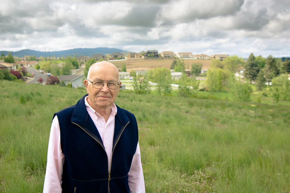 Maynard Fosberg and the prairie restoration planting