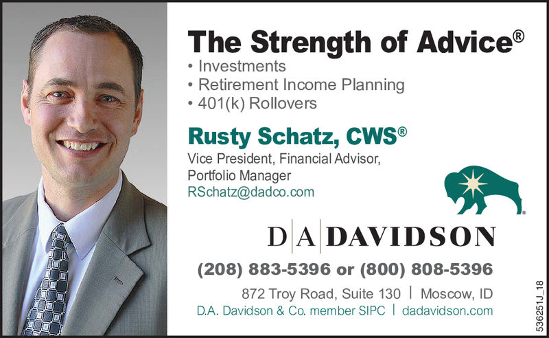 Silent Auction Sponsor: Rusty Schatz, DA Davidson