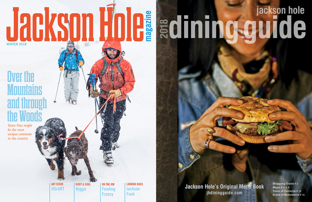 Featured in JH Magazine and JH Dining Guide... -