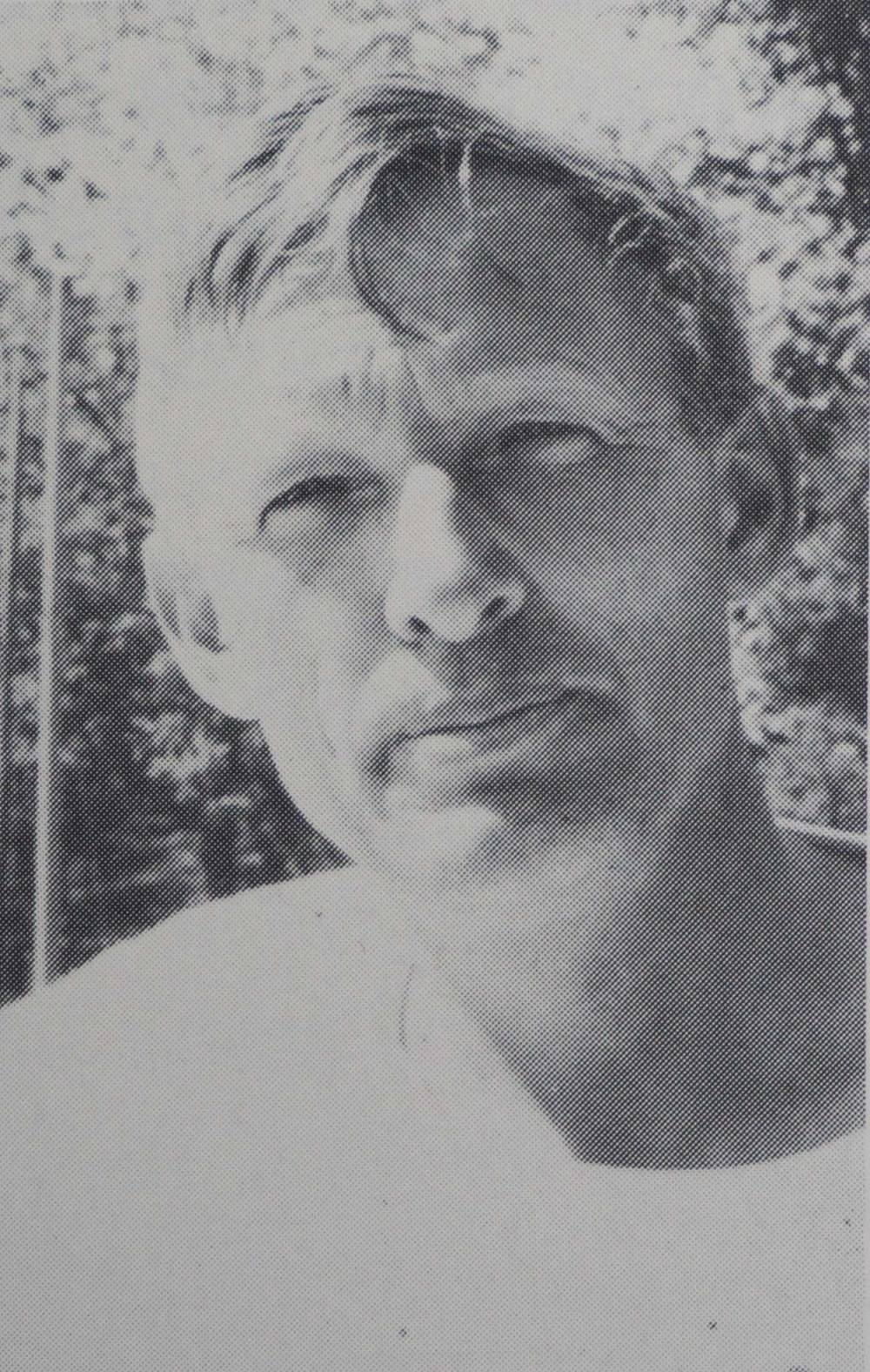 Glenn Wegener in 1975