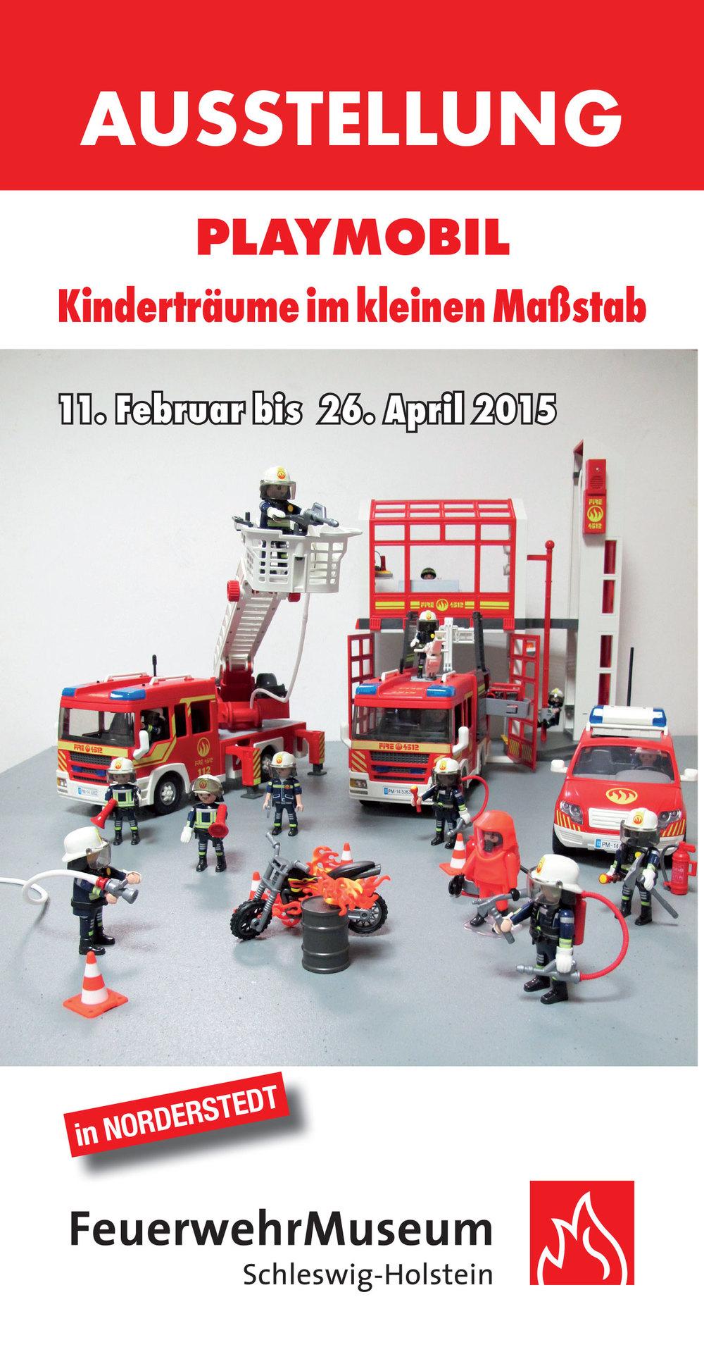 Flyer zur Playmobil-Ausstellung