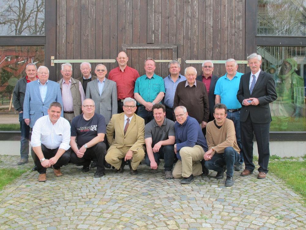Teilnehmer der Tagung des Referates 11 des vfdb in Norderstedt