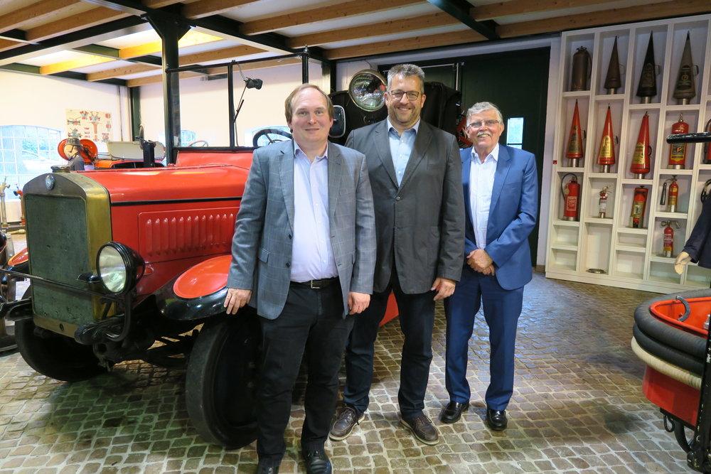 Dr. Hajo Brandenburg, Stefan Studt und Horst Plambeck (von links nach rechts)