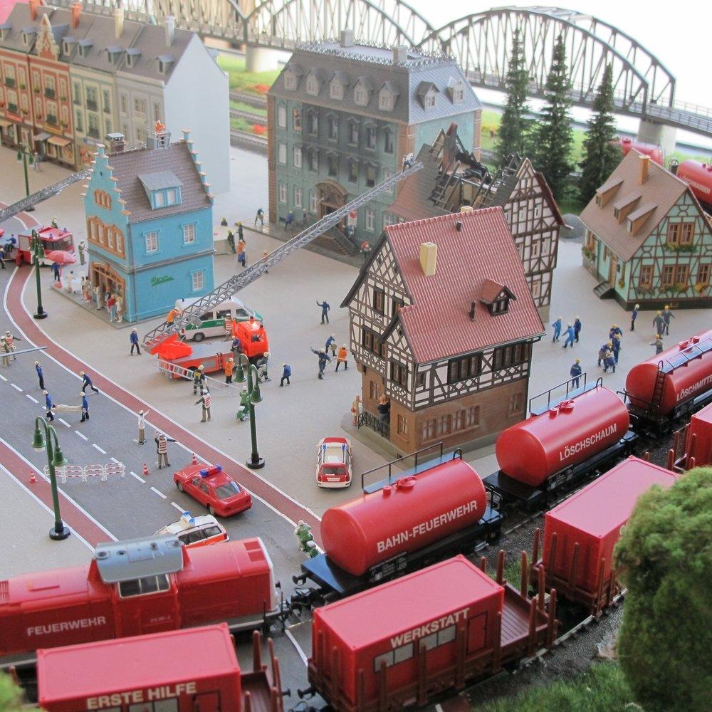 Die bunte Welt der Eisenbahn im kleinen Maßstab - 6. Februar bis 30. März 2013