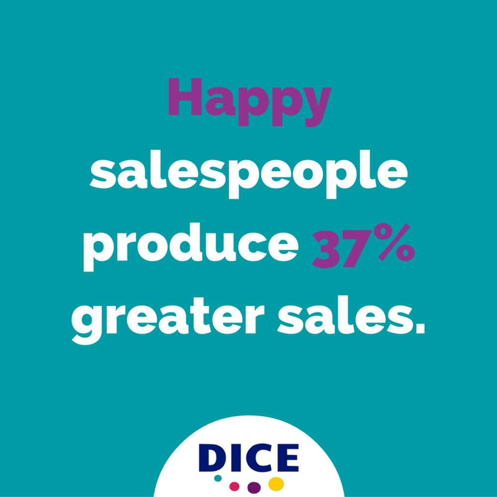 Happy Salespeople