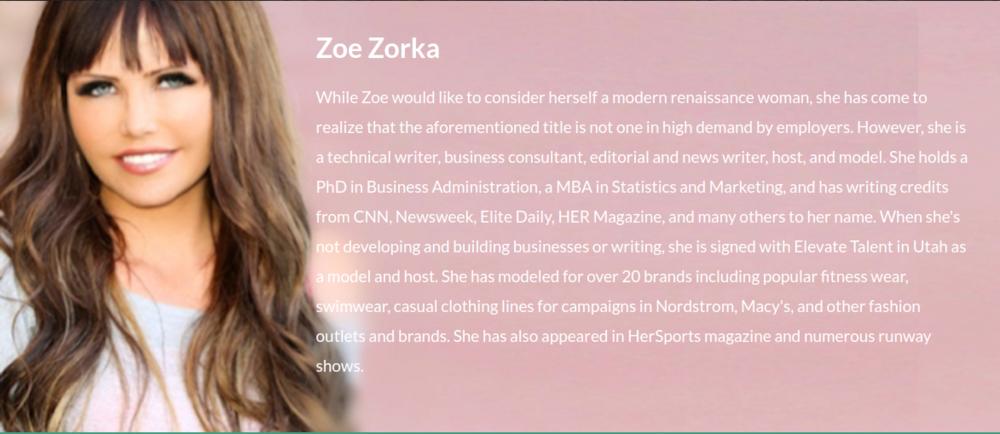Zoe Zorka