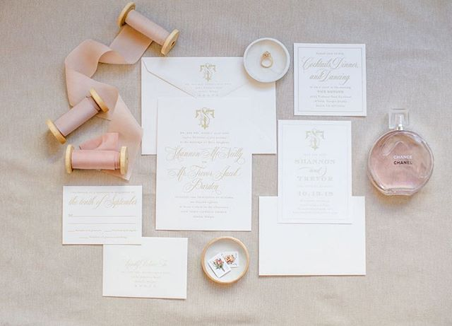 Soft + sweet stationary details