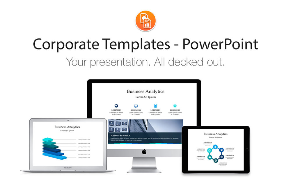 Powerpoint Corporate Templates Deeda Designs