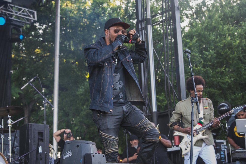RZA & Stone Mecca @ Fortress Fest. Photo: Austin James