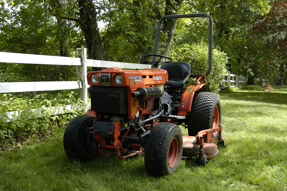 Tractor - Supported by donations and operated by volunteers