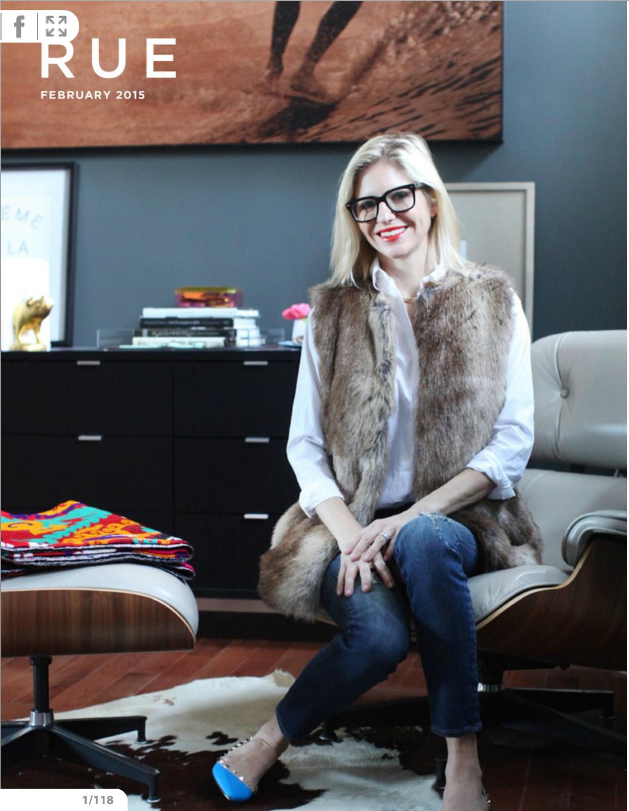 Robin Anderson - Rue Magazine