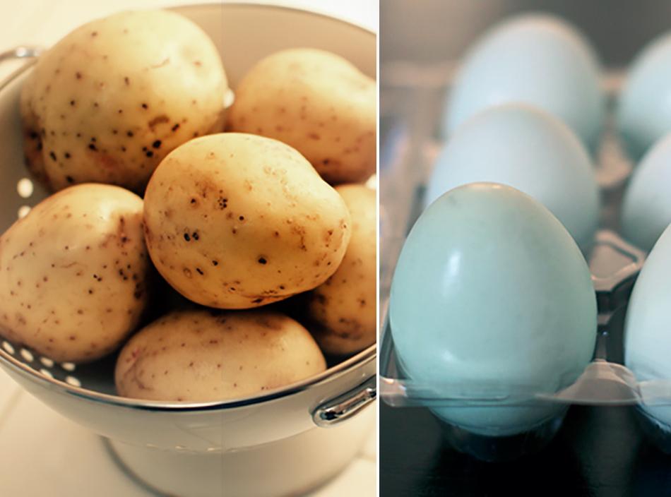eggs&potato