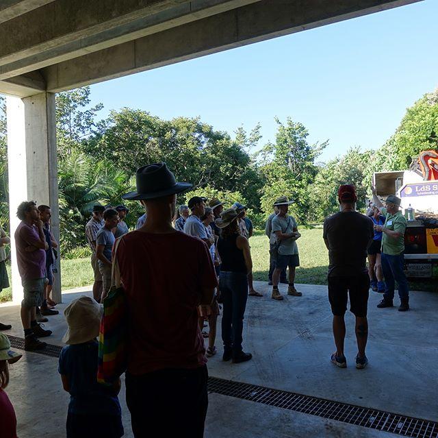 Woodfest Federal Open Day farm tour at Lune de Sang