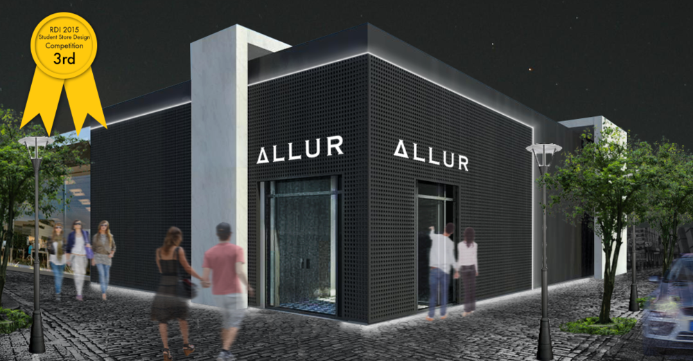 RDIu0027s 2015 International Student Store Design Competition   THIRD PLACE