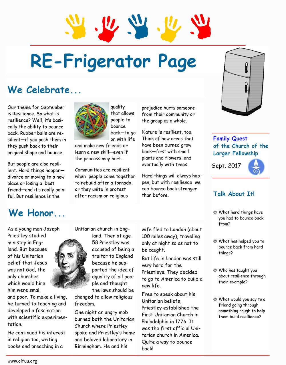 REFrigerator Page 9-17
