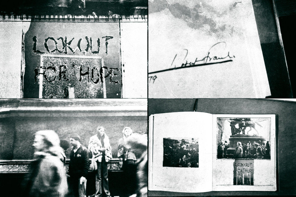 "My own photo interpretation, taken from the book ""Robert Frank Moving On"" published by Scalo & the National Gallery of Art."