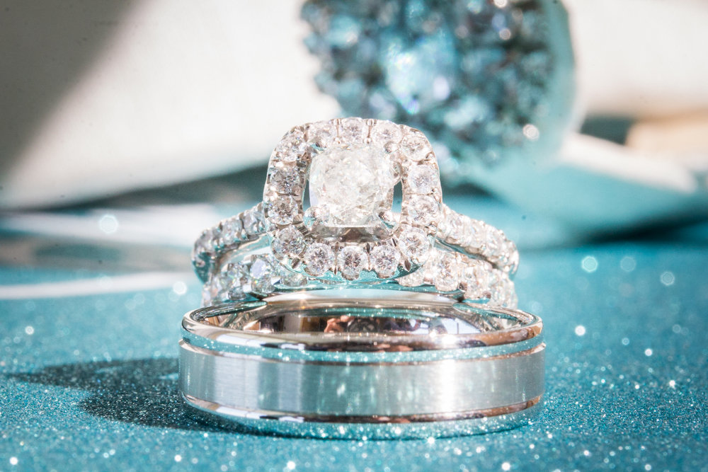 The very elegant diamond ring of Jennifer