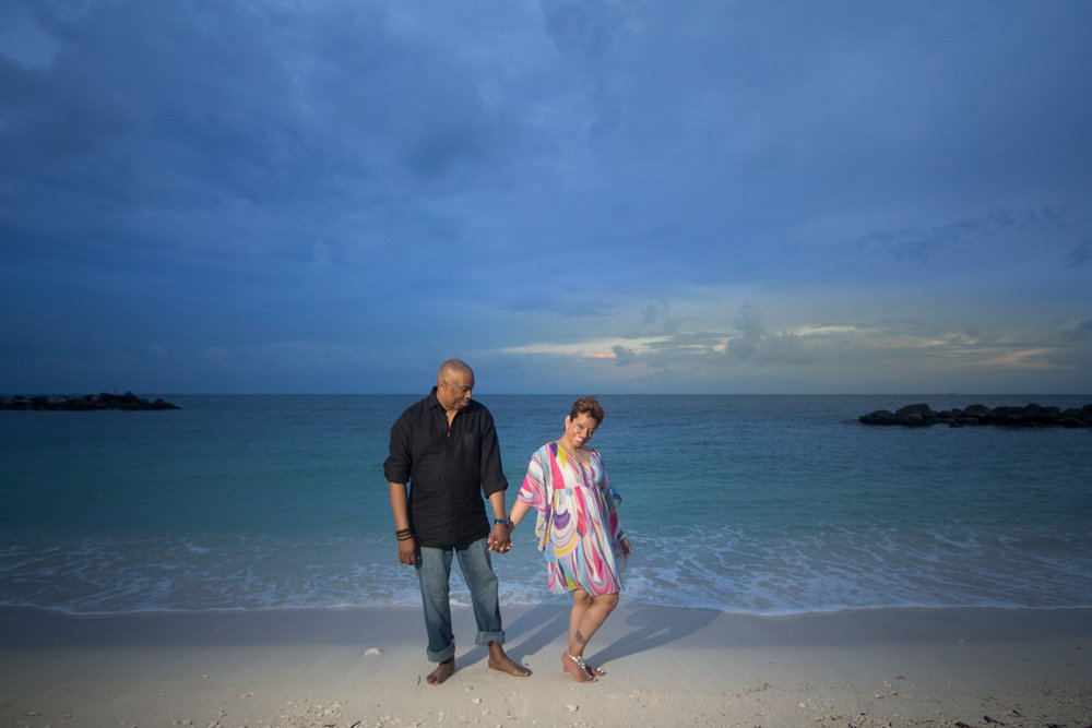 By the ocean in Key west
