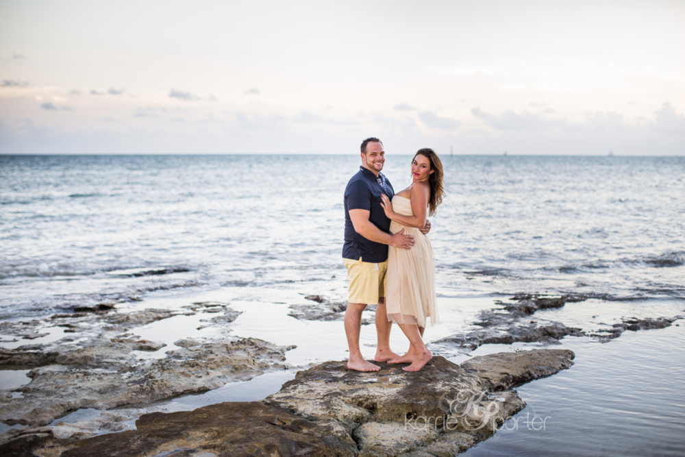 Key West Photographer Capturing Engagement Portrait at Casa Marina.png