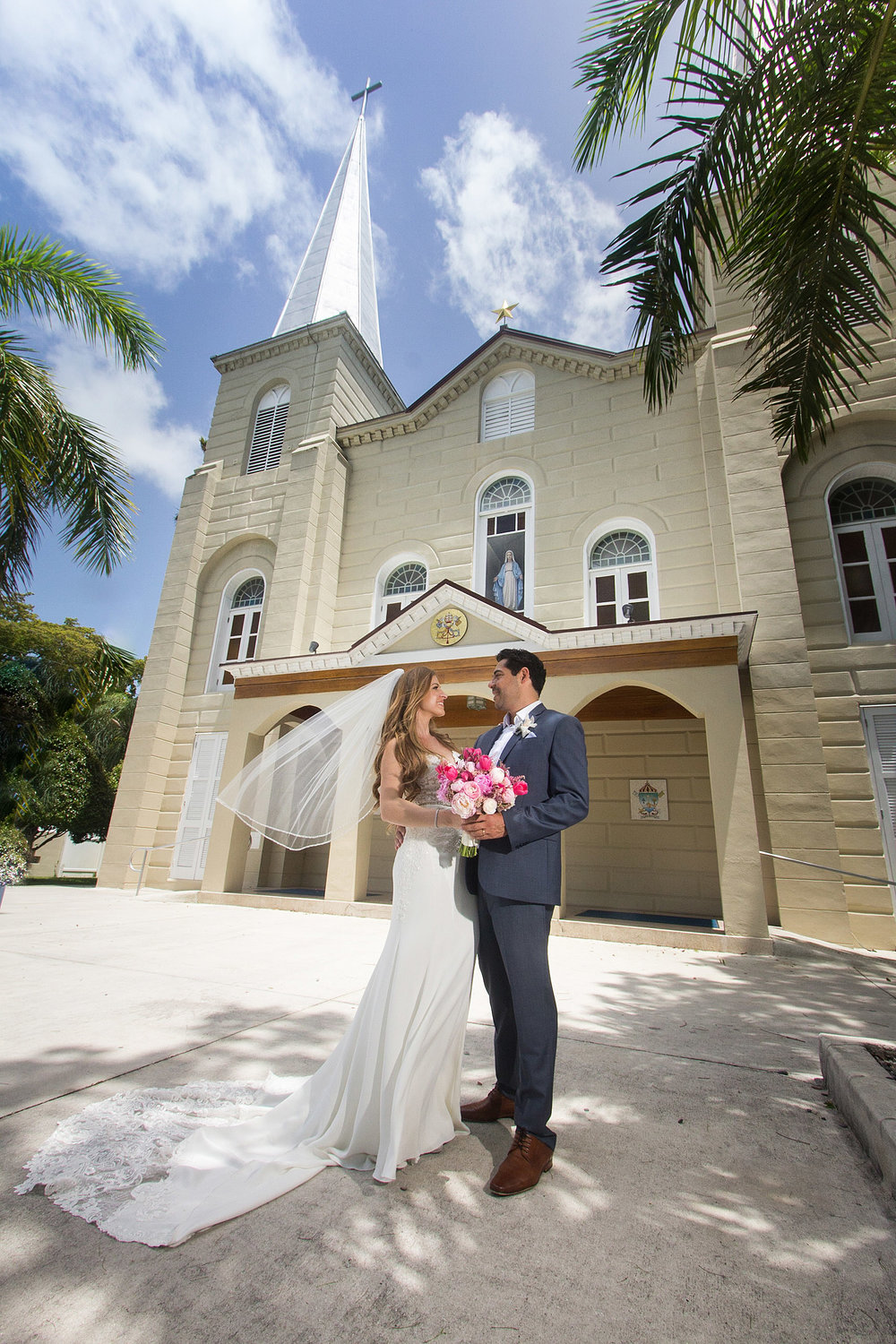 Couple Get Married at St Marys Basilica Key West.jpg