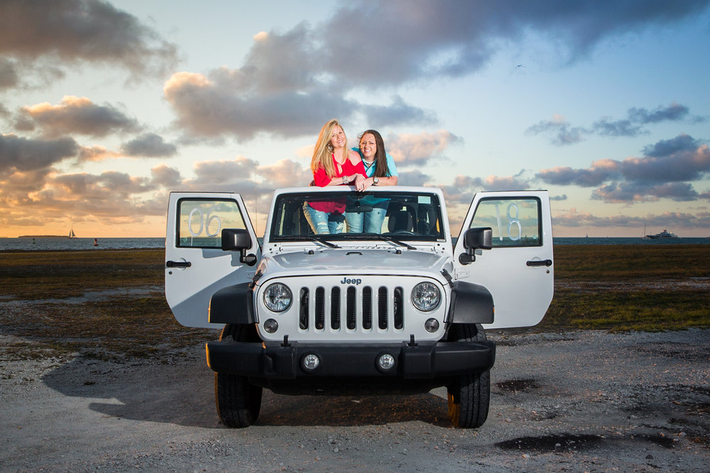 Key West Engagement with Jeep.jpg