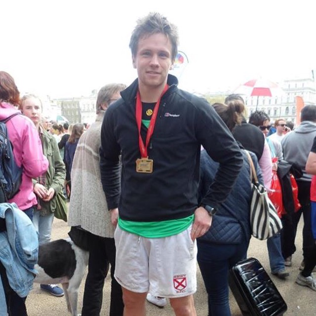 End of the London Marathon