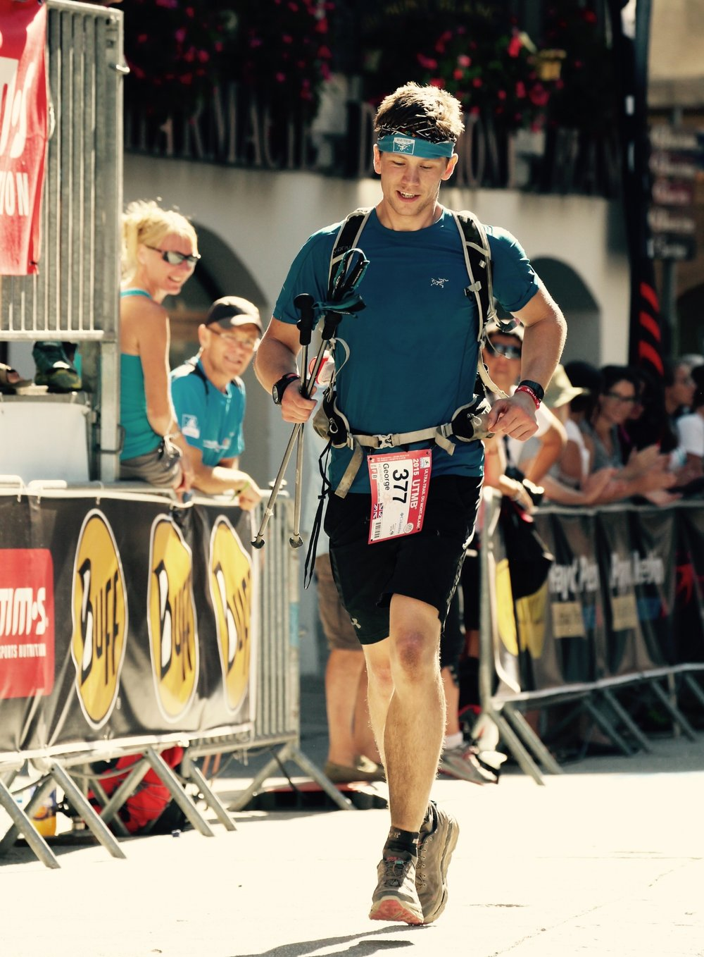 Chamonix at the end of the UTMB