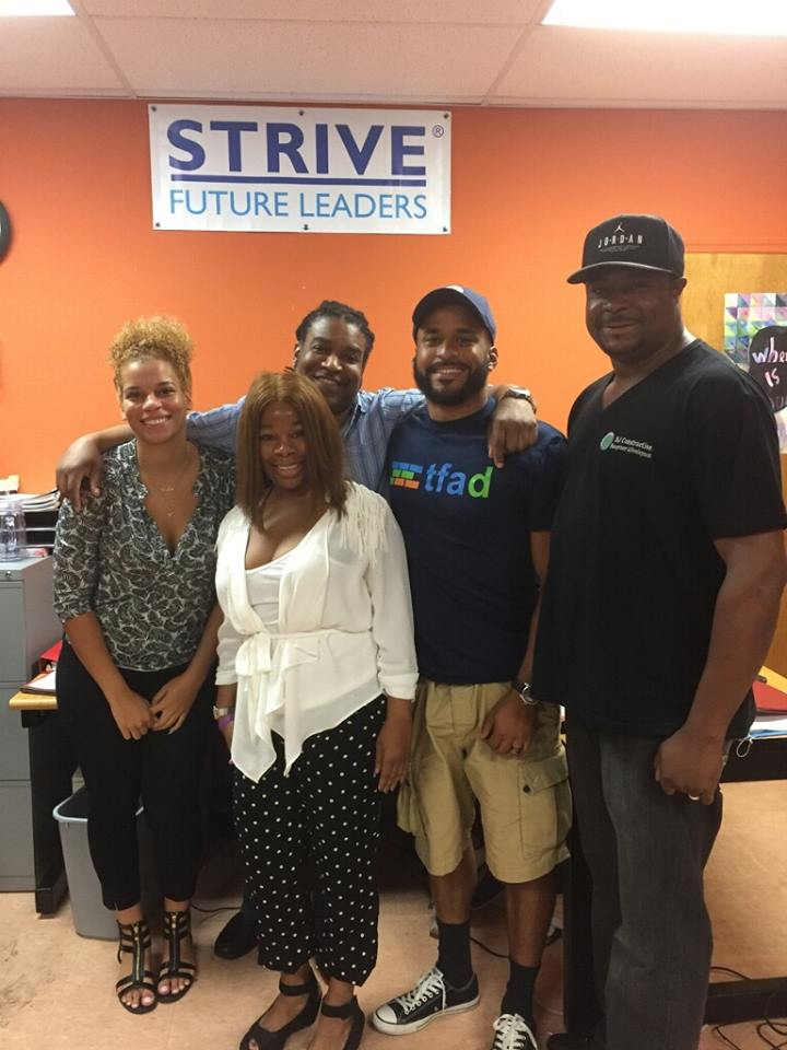 Trades for a Difference and Strive Forward Philadelphia's summer work program.