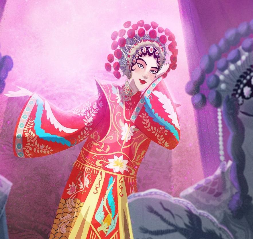 Chinese Opera -Character Design