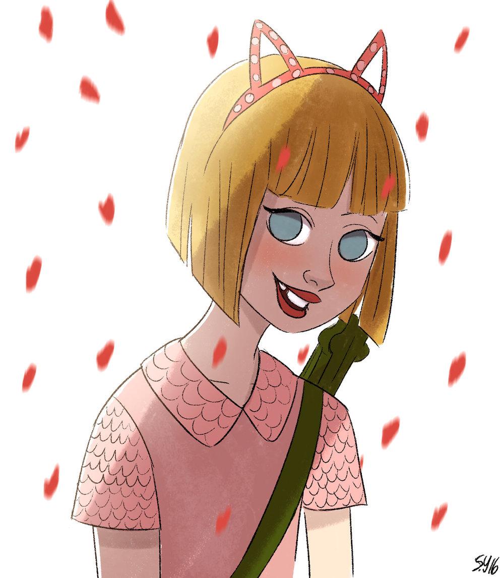 Grace VanderWaal-Character Design