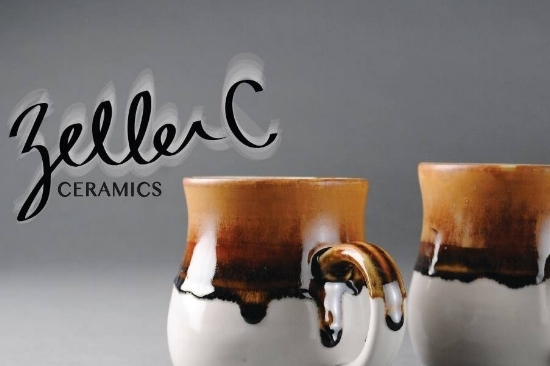 Z     ELLER C CERAMICS   Handmade ceramics & pottery for kitchenware or personal decor. All items are handmade, hand designed, and hand glazed, by artist Carina Zeller.