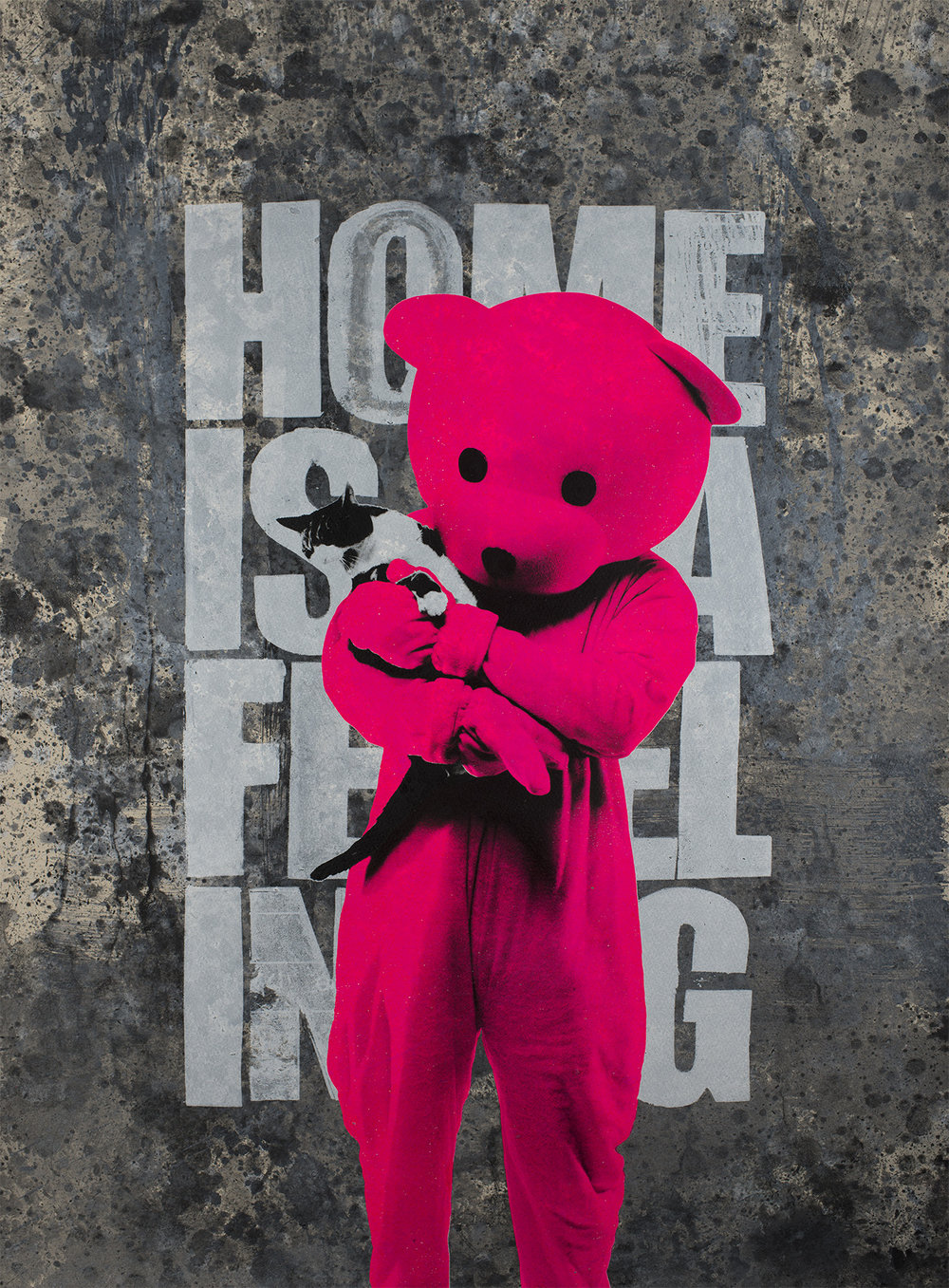 Home Is A Feeling - Giclée Print Edition of 100
