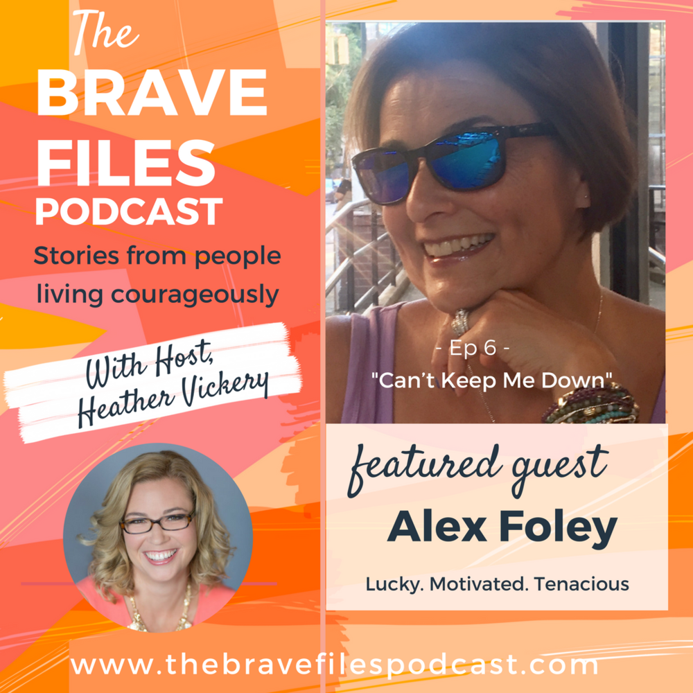 The Brave Files. Learn how to live bravely. Click through to listen how to Alex Foley is living courageously blindness and Type 1 Diabetes