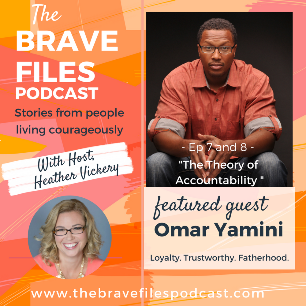 The Brave Files. Learn how to live bravely. Click through to listen how to Omar Yamini's story of living through a 15-year imprisonment for a crime he didn't commit.