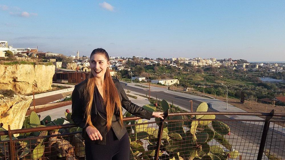 Skyline of Paphos, Cyprus