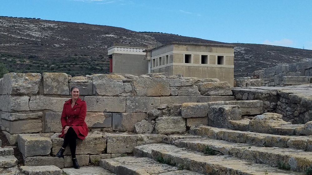 Palace of Knossos on Crete, Greece