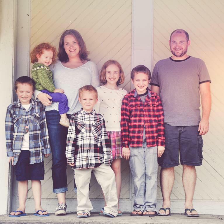 The beautiful Gerrits family!