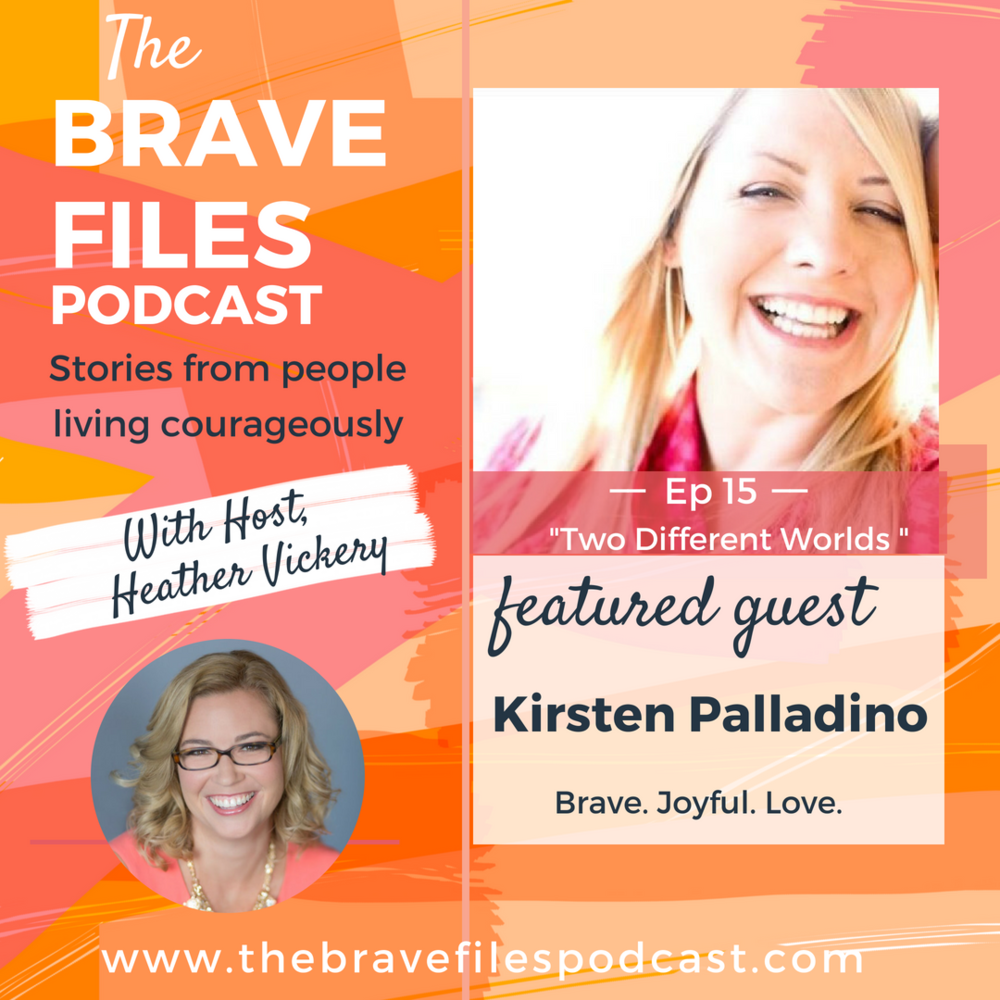 The Brave Files. Learn how to live bravely. Click through to listen to how Kirsten Palladino is living courageously after sexual abuse.